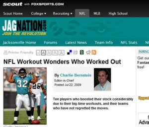 NFL Workout Wonders Who Worked Out